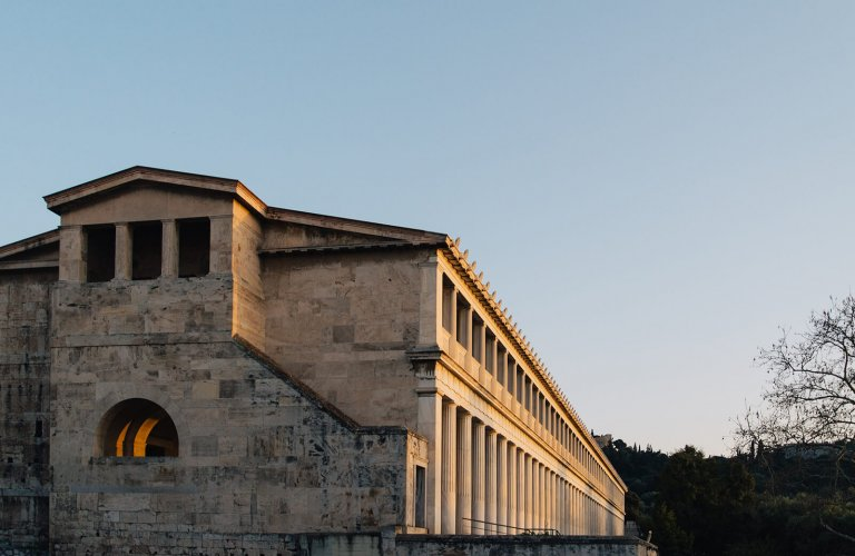 The Stoa of Attalos Monastiraki